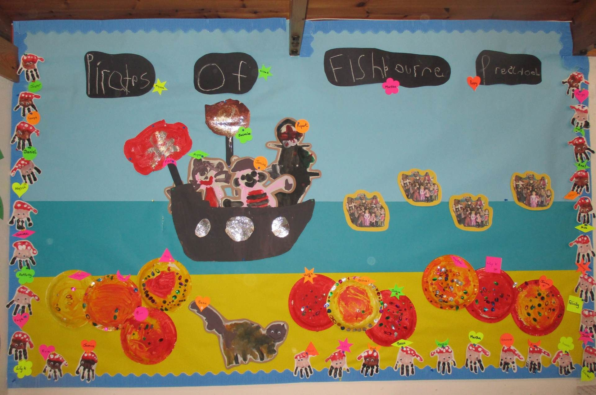 Life at Fishbourne Pre School
